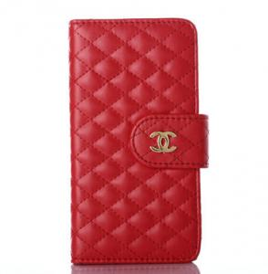 China Chanel Flip Leather Case Diamond Iphone 6 Case Smart Phone Protection Cover on sale
