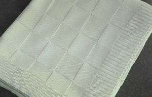 China 女の子のための王毛布/通気性の折畳み式ベッド毛布を編んで下さいSize Organic Cotton Baby on sale