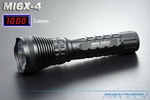 China 10W 1000lm AA Super Bright Aluminum CREE LED Xml T6 Tactical Flashlight (MI6X-4) on sale