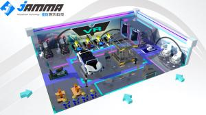 China Optional Size Virtual Reality Theme Park Custom Design Project One Stop Game Center on sale