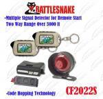 2つのLCDのリモート/コード ホッピングの技術の車警報のページを捲る自動警報システム2の方法