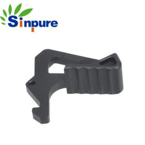 China Sinpure Customized Black Aluminum Extended AR-15 Charging Handle Latch on sale
