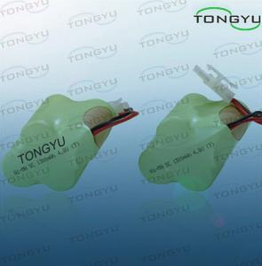 China Emergency Lamp Nimh Rechargeable Battery , Ni-MH SC 1300mAh 4.8V Rechargeable Pack on sale