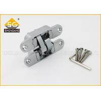 China Furniture Hardware 3D Concealed Invisible Door Hinges For Internal Wood Door on sale