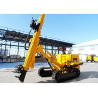 Crawler Mounted Anchor Drilling Rig With Full Hydraulic Power Head JKM458