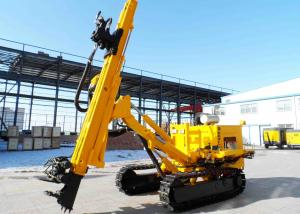 China Crawler Mounted Anchor Drilling Rig With Full Hydraulic Power Head JKM458 on sale