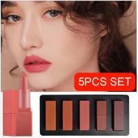 Romantic Beauty Long Lasting Lip Gloss Cream Form Cosmetic Miss Rose Mini Set