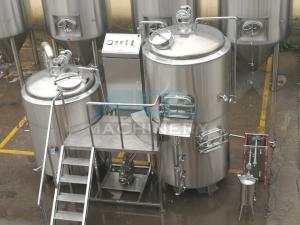 China 2000L Commercial Used Beer Brewing Equipment Brewery Brewhouse on sale
