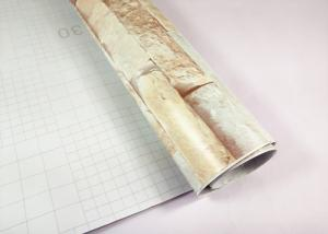 China Brick Pattern Self Adhesive Marble Wallpaper Marble Effect Adhesive Paper on sale