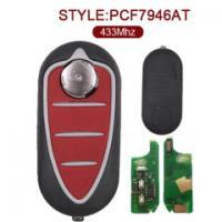 Alfa Romeo Flip Remote Key 3 Button 433MHz PCF7946AT