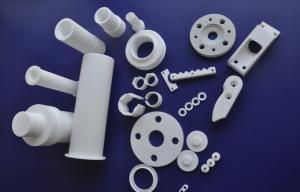 China Telfon PTFE Plastic Turning Machining Part , White Non-stick Ptfe on sale