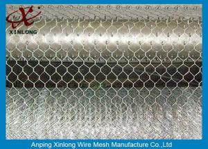 China Malla de alambre hexagonal galvanizada sumergida caliente con el certificado Iso90000/2008 on sale