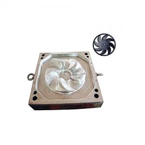China High Polishing Cnc Machine Plastic Mold Fans Mould For Factory Air Venting on sale