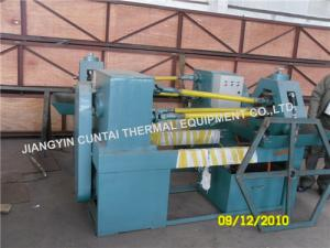 China Heat Exchanger Extruded Fin Tube Machine , Finned Tube Making Machine on sale