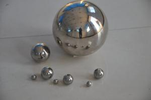 China 1/8 Precision Steel Balls , Large Steel Ball Bearings For Machineries on sale