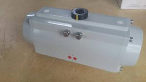 China double action  or spring return rack and pinion pneumatic rotary actuator control valves on sale