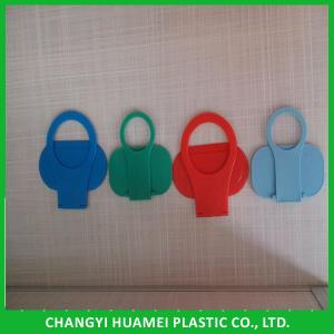 China Plastic Cell Phone Hanging Wall Charger Holder on sale