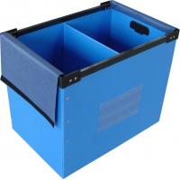 China Clothes / Books Coroplast Corrugated Plastic Boxes For Moving / Packing / Storage on sale