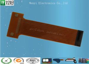 China 12 Pin FPC Flexible Printed Circuit / Multilayer Flex Circuits For POS Machine on sale