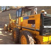 Japan Used Mitsubishi Motor Grader Mg330With Air Conditioned ROPS Cabin