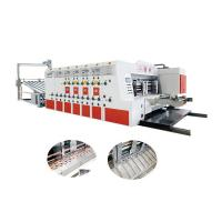 China 1 Color Flexo Printing Corrugated Carton Box Machine 3 Years Warranty on sale