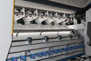 China 7KW Computerized Multi Needle Quilting Machine Three Needle Mattress Sewing Machine on sale