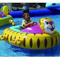 Inflatable Toy Boats For kids , Tiger Inflatable Motorized Bumper Boat