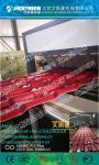 PVC glazed/corrugated/wave roofing tile extruder