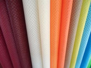 China Laminated Non Woven Fabric Disposable Cloth 10cm - 320 Cm For Tablecloth on sale