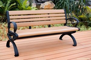 China Remeda wood plastic composite chair wood relaxing chair modern plastic chair 67*34 RMD-86 on sale