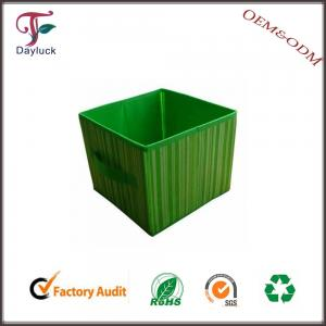 China Cardboard colorful fabric storage box on sale