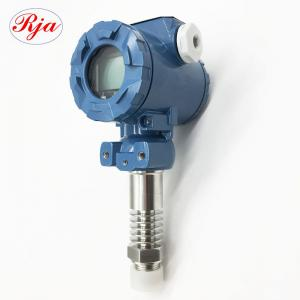 China 2bar 10bar Gas Pressure Sensor / Water Liquid Pressure Sensor With 5 Digit LCD Display on sale