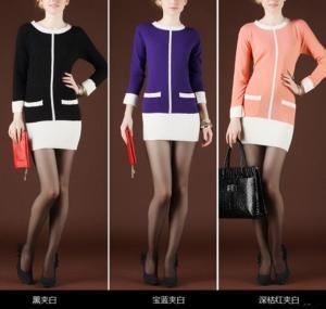 China Lady Fashion Sweater Cardigan on sale