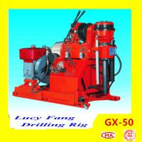 Chongqing Mini GX-50 Portable Soil Testing Drilling Rig with 50 m Depth And SPT Equipment