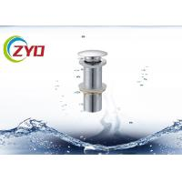 China Anti Clogging Pop Up Bathtub Drain , Leakage Resistant Pop Up Plug For Bathroom Sink on sale