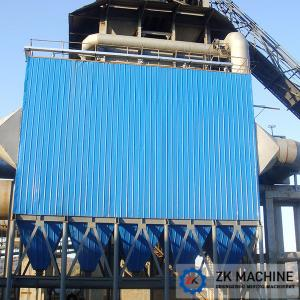 China Industrial Dust Collection Equipment , Long Bag Dust Collection System on sale