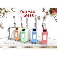 Portable Q Switch Nd Yag Laser Scar Removal Machine 100mj - 2000mj