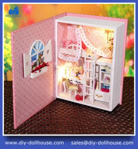 China Fashion house model mini dollhouse puzzle little cottage B004 on sale