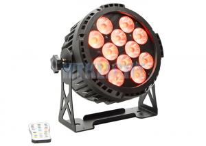 China Energy Saving RGB LED Stage Light With Battery 12x12watt Master - Slave Control Mode on sale