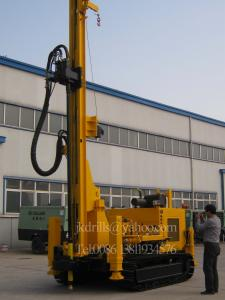 China Crawler Deep Hole Water Well Drilling Machine Water Well Drilling Rigs JKS200 on sale