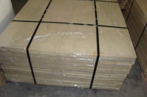 China PA6 PA66 Nylon Plastic Sheet / White Nylon Sheet With 90Mpa Tensile Strength on sale