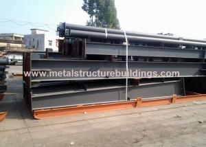 China OEM Welded Prefabricated Steel Frames , Multi Span Steel Frame Residential Homes on sale