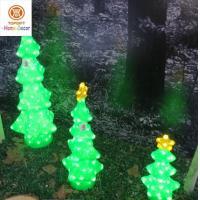 Holiday Xmas Decoration Christmas Tree Light Set of 3 Led White lights