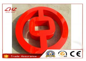 China Super Bright Small Advertisement Exterior Sign Letters / LED Illuminated Letters on sale