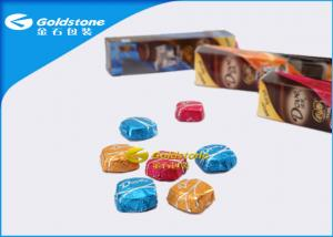 China Colorful Printing Personalized Chocolate Foil Wrappers Coloured Foil For Wrapping Chocolates on sale