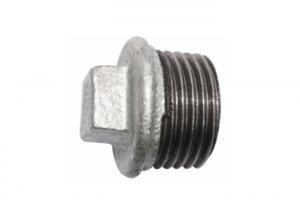 China Metric Cast Iron Pipe Plug , 1 2 Npt Pipe Plug Fitting Ansi Standard OEM Available on sale
