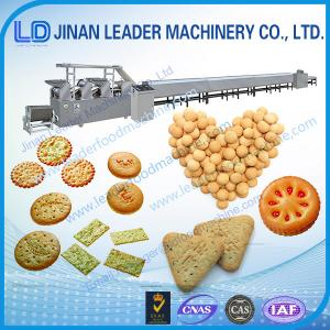 China Industrial  stainless steel soft hard cookie biscuit production line on sale
