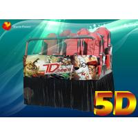 China Professional Virtual Reality 5D Movie Theater Equipment Blow Water To Face on sale