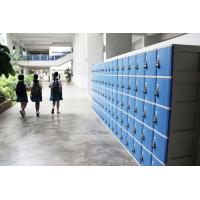ABS Material Keyless Plastic School Lockers 4 Comparts 1 Column Safety / Ventilation