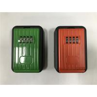 Outside Security Digital Key Safe Lock Box / Metal Key Box Code Lock